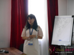 Elena Vygnanyuk at the July 19-21, 2017 International Romance Business Conference in Belarus