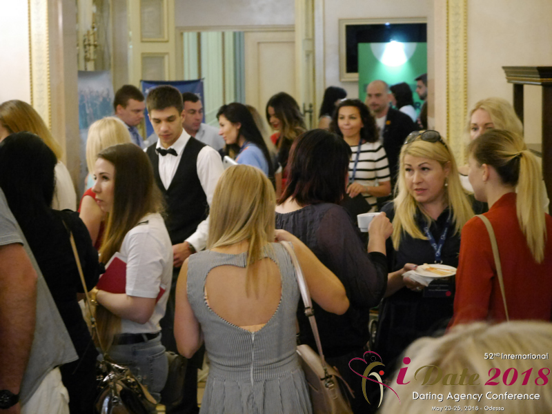 Dating Agency Owners Networking at the 48th iDate Premium International Dating & Dating Agency Negócio Trade Show